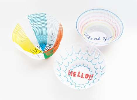 Personalized Paper Vessels - Torafu Architects