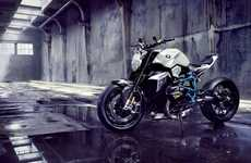 Breathtaking Concept Motorbikes - The BMW Concept Roadster Has a Magnificent and Unique Design