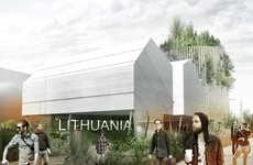 Plant-Focused Pavilions - Vilnius Architecture Studio Builds 'Growing Lithuania'