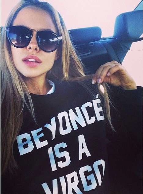 Star Sign Sweatshirts - This Flawless Virgo Shirt Promotes Yours and Beyoncé