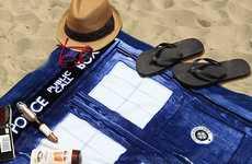 Beachy Sci-Fi Towels