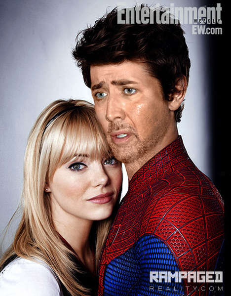 Photoshopped Celebrity Parodies - These Superimposed Images of Nicholas Cage are Hilarious