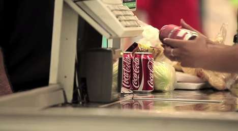 Joyful Grocery Checkout Campaigns - Coca-Cola