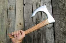 Returning Throwing Hatchets - The Viking Axe Boomerang by Bricobart is a Deceptive Design