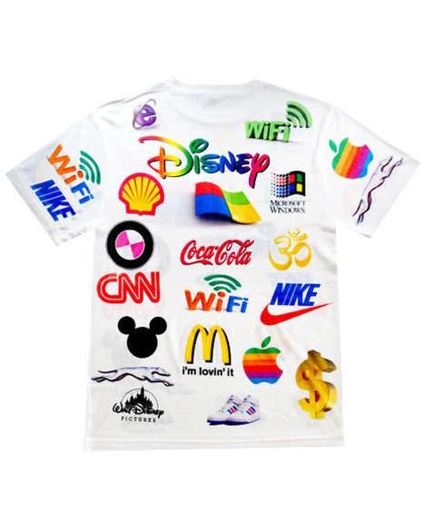 Lo-Fi Logo Apparel - The Brainwash Tee from Shop Jeen Featurs the World