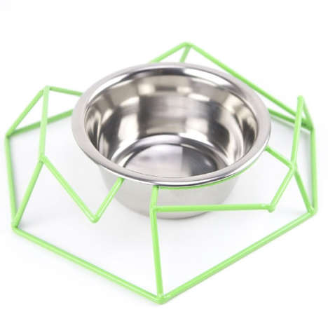 40 Innovative Pet Bowl Designs - From Modernist Canine Accessories to Sensory Feline Dining