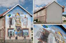 Hyperreal Building Murals