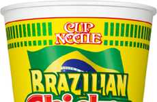 Spicy South American Noodles - Nissin's Brazilian Flavored Ramen Noodles Celebrate the World Cup