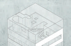 Cube-Confined Architecture Plans - Yannick Martin Puts Famous Homes in a Small Space