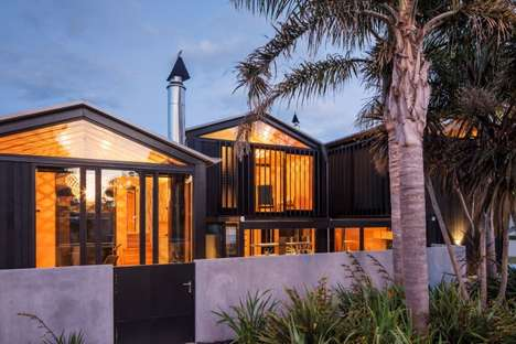 Boatshed-Inspired Abodes - Strachan Group Architects Go with a Nautical Look for a NZ House