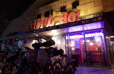 Socially Conscious Pizzerias - Gung Ho! is a Sustainable Restaurant in Beijing Revolutionizing Pizza