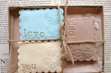 Sentimental Father's Day Sweets - The Love You Dad Cookie Gift Set from Etsy's Nila Holden is Tasty