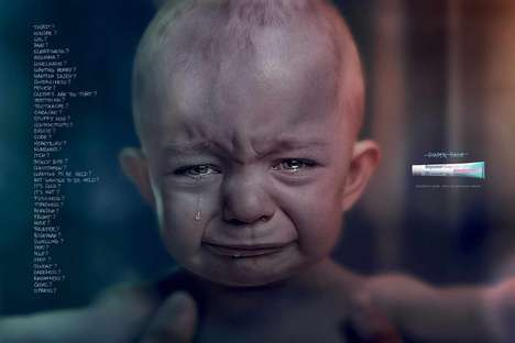 Explanatory Infant Upset Ads - Bepantol's Baby Rash Cream Ad Offers One Cry-Stopping Solution