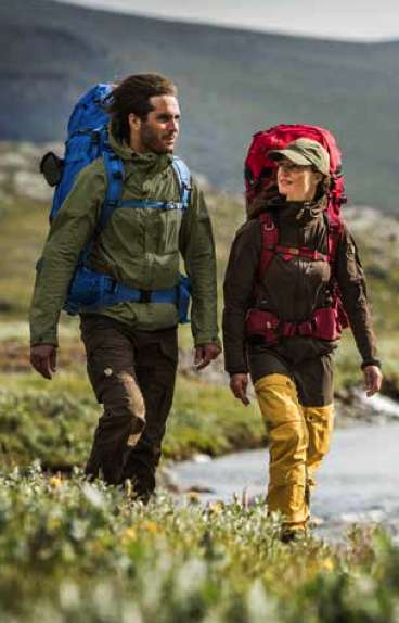 Foxy Outerwear Apparel - Fjällräven Helps You Brave the Cold While Looking Fashionable