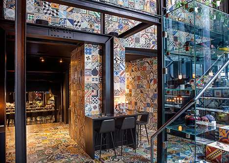 Tribal Tiled Eateries - This Themed Restaurant Design is Distinctly South American