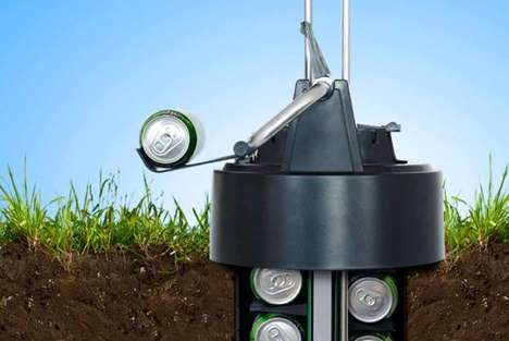 Underground Beer Dispensers - eCool Has Built a Dispenser That Keeps Your Beer Cold Underground