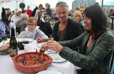Recycling Roaming Restaurants - The Forgotten Feast is a Pop-Up Natural Eating Experience