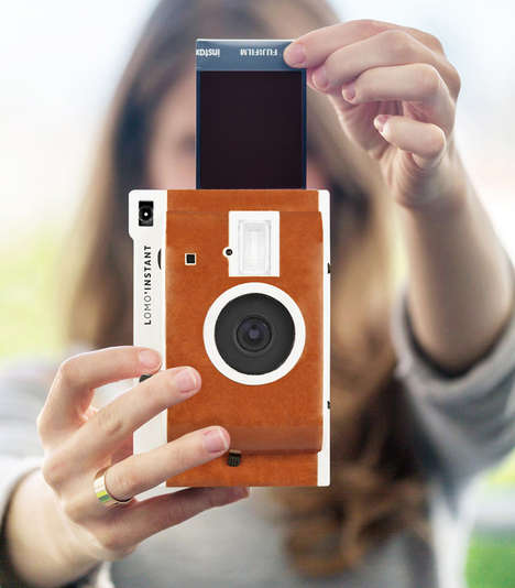 Filtered Polaroid Cameras - The Lomo'Instant Cameras Bring Back Traditional Filters and Polaroids