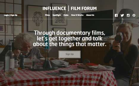 Online Documentary Review Clubs - The Influence Film Forum is Where Documentary Lovers Unite