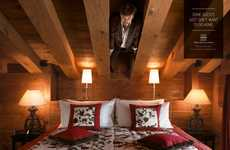 Hidden Hotel Guest Ads - In These Swiss Deluxe Hotels Ads, Guests Want to Stay Forever