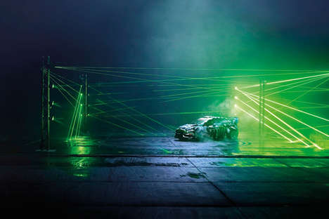 Laser-Drenched Racetracks - The Castrol