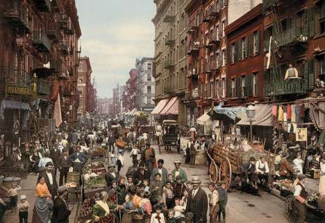 Early American Photography - An American Odyssey Depicts America's Earliest Days in Dazzling Color
