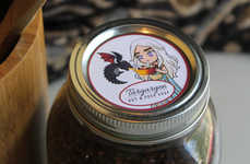 Medieval Mason Jar Labels - Cute Cartoonish Game of Thrones-Inspired Labels are Available on Etsy