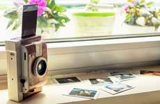 Ingenious Instant Cameras - The Lomo'Instant Allows You to Instantly Print Distinctive Photos