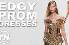 Rebellious Formal Fashion - Trend Hunter's Armida Ascano Discusses Her Favorite Edgy Prom Dresses