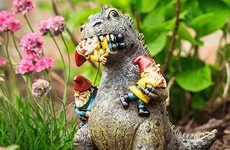 Rampaging Dinosaur Gnomes