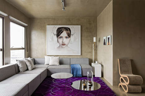 Modern Artist Residences - The Vila Leopoldina Loft by Diego Revollo Boasts Upcycled Furnishings