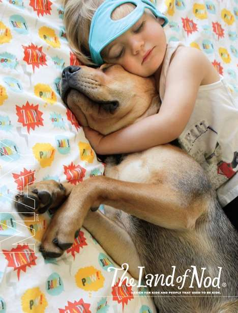 Social Media-Sourced Ads - The Land of Nod's May Cover Stars the Adorable and Viral Theo and Beau