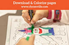 AR Coloring Book Apps - The Chromville Augmented Reality Learning App Brings Drawings to Life