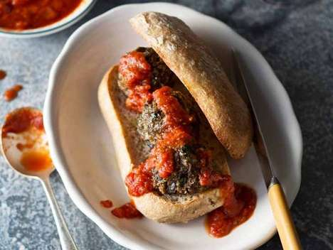 Deceiving Veggie Meatballs - These Eggplant Meatballs are a Deliciously Healthy Beef Alternative