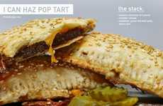 This DIY Pop Tart Involves a Meaty Patty and Cheese