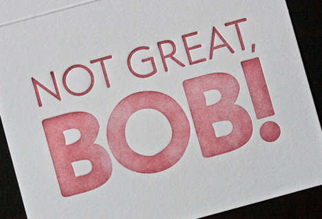 Not Great Greeting Cards - This All-Occasion Card Features One of the Best Mad Men Quotes Ever