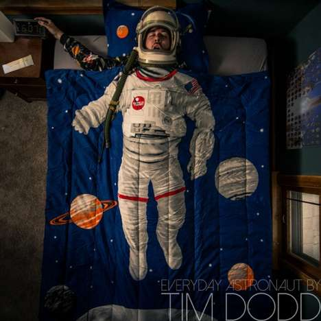Comical Spaceman Photography - Everyday Astronaut by Tim Dodd is Filled with Easter Eggs to Find