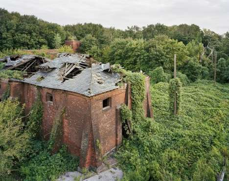 Abandoned Island Photography - Christopher Payne Captured the North Brother Island for His New Book
