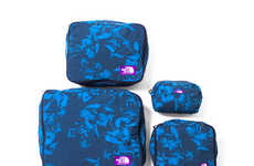 Hawaiian-Print Bag Lines - The North Face Purple Label SS14 Bag Collection is Tropical
