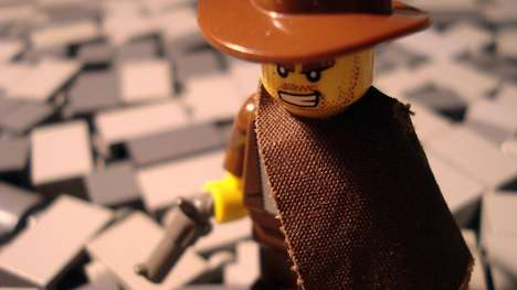 Cinematic LEGO Recreations - Alex Eylar Creates Famous Film Scenes Using LEGO Bricks