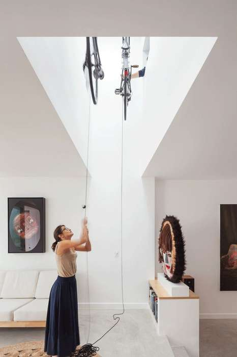 Cyclist Dream Homes - House Bruce Alexander by Tribe Studio Boasts Clever Bike Storage