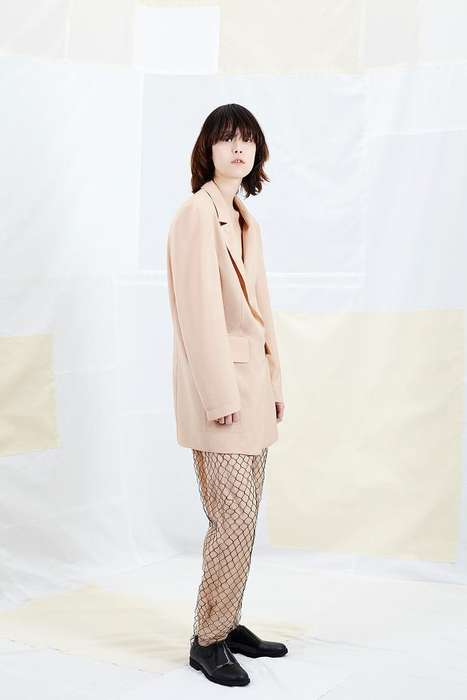 Subtly Strange Fashion - The MM6 Maison Martin Margiela Resort 2015 Collection is Experimental