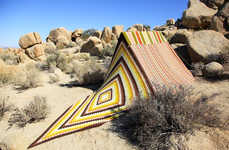 Mesmerising Desert Tents - Léa Donnan's Afghan Tents Brighten Up the Desert