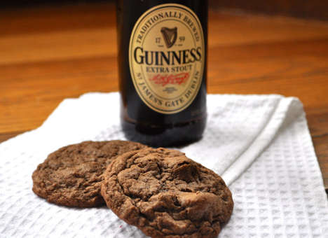 Boozy Beer Cookies - These Guinness Chocolate Chunk Cookies Would Make Great Father