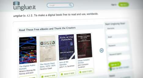 Crowdfunded Copyright-Free Ebooks - Unglue.It Rewards Authors and Results in Public Domain Ebooks