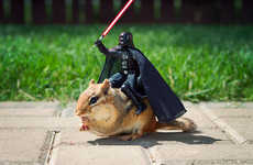 Artist Chris McVeigh Shoots Chipmunks with Star Wars Figurines