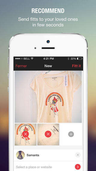 Shopping Consultation Apps - The Fitt App Provides a Second Opinion When Shopping