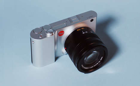 Digital SLR Cameras - The Leica Camera T Series is Mixes DSLR and Digital Qualities