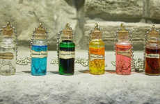Wizardly Potion Pendants