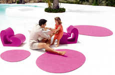 Heart-Shaped Patio Furnishings